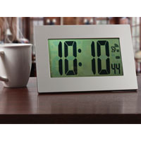 Jumbo Display Atomic Clock