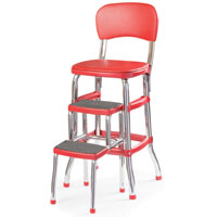 Classic Kitchen Chair and Stepstool