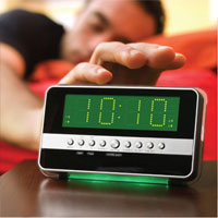 Motion Clock Radio