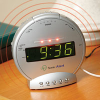Sonic Boom Digital Alarm with Phone Alert