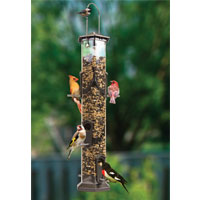 Surround-View Birdfeeder