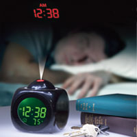 Talking Projection Alarm Clock