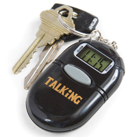 Talking Keychain Clock