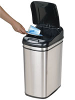 A unique gift for Mom - Touch Free Trash Can