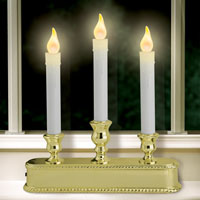 Triple LED Candlestick