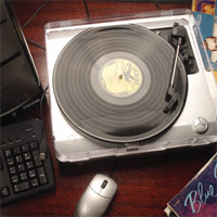 Vinyl-To-PC Turntable