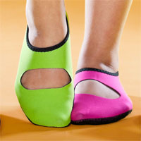 Womens Barefoot Slippers