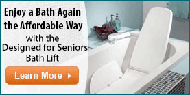 Designed For Seniors Reclining Bath Lift