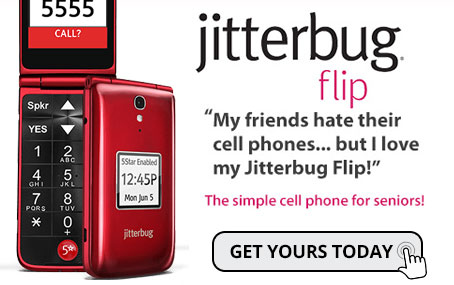 Jitterbug Flip Cell Phone