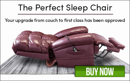 The Perfect Sleep Chair® - DuraLux Leather Lift Chair