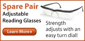 Spare Pair Adjustable Glasses