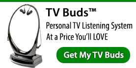 TV Buds - Personal TV Listening System
