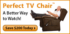 Perfect TV Chair