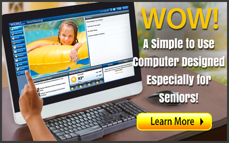 "WOW! Computerâ""¢ for Seniors with 22-Inch Touchscreen Monitor"